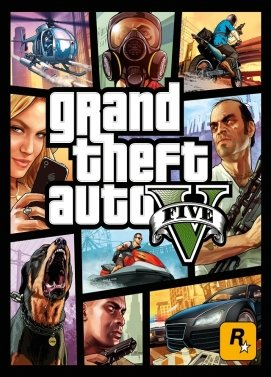 Digitální licence hry GTA 5 (Rockstar Games Launcher)