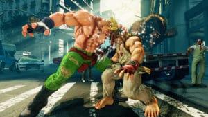 Hra na PC Street Fighter V