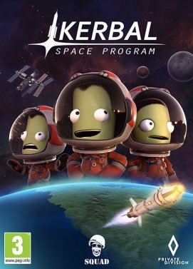 Hra na PC Kerbal Space Program