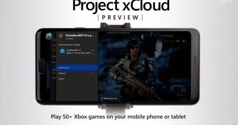Projekt xCloud