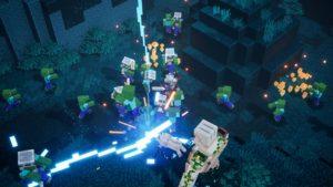 Elektronická licence PC hry Minecraft Dungeons - Windows 10
