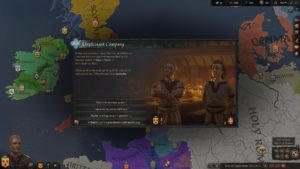 Hra na PC Crusader Kings 3