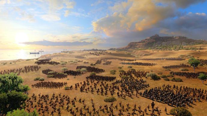 Total War Saga: Troy PC hra