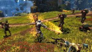 Hra na mobil Kingdoms of Amalur: Re-Reckoning