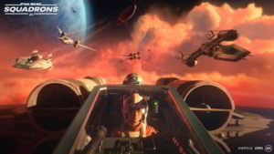 Hra na PC Star Wars: Squadrons