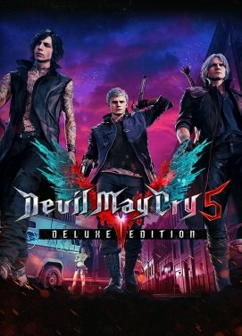 Digitální licence hry Devil May Cry 5 Deluxe Edition (STEAM)