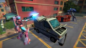 Digitální licence PC hry Transformers: Battlegrounds (STEAM)