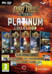 Elektronická licence PC hry Euro Truck Simulator 2 - Platinová edice STEAM