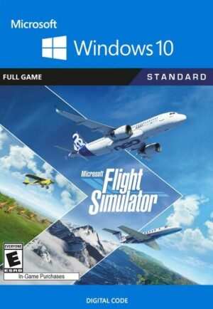 Elektronická licence PC hry Microsoft Flight Simulator - Windows 10