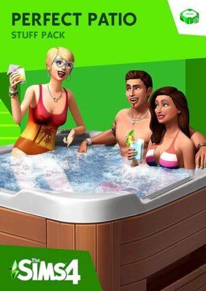 Elektronická licence PC hry The Sims 4 Perfektní Patio DLC Origin