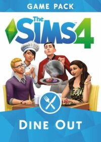Elektronická licence PC hry The Sims 4: Dine Out (DLC) Origin