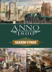 Elektronická licence PC hry Anno 1800 Season Pass 3 uPlay
