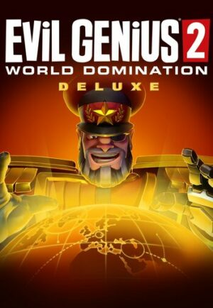 Elektronická licence PC hry Evil Genius 2: World Domination Deluxe Edition