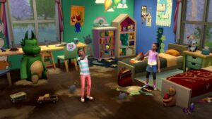 Elektronická licence PC hry The Sims 4 Velký úklid Origin