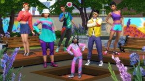 Elektronická licence PC hry The Sims 4 Retro styl Origin