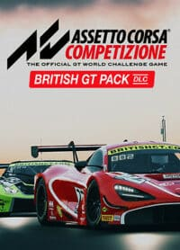Elektronická licence PC hry Assetto Corsa Competizione - British GT Pack STEAM