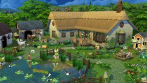 Elektronická licence PC hry The Sims 4 Život na venkově ORIGIN