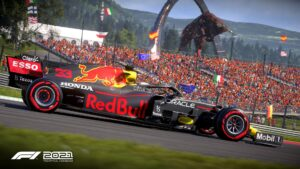 Elektronická licence PC hry F1 2021 Deluxe Edition STEAM